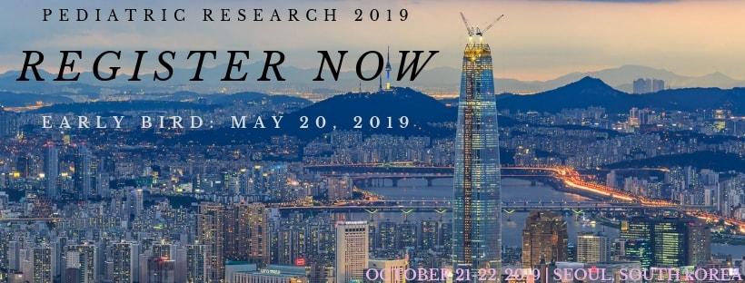 - Pediatric Research 2019