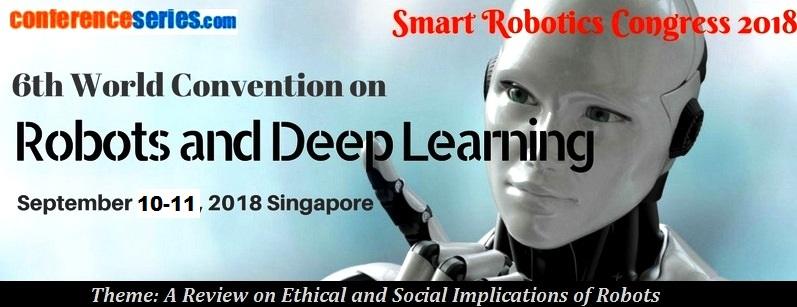 - Smart Robotics congress 2018