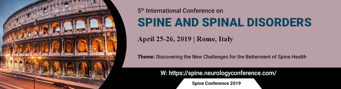Spine Conference 2019 Banner - Spine Conference 2019