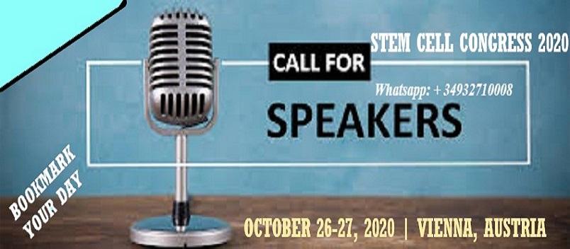 - Stem Cell Congress 2020