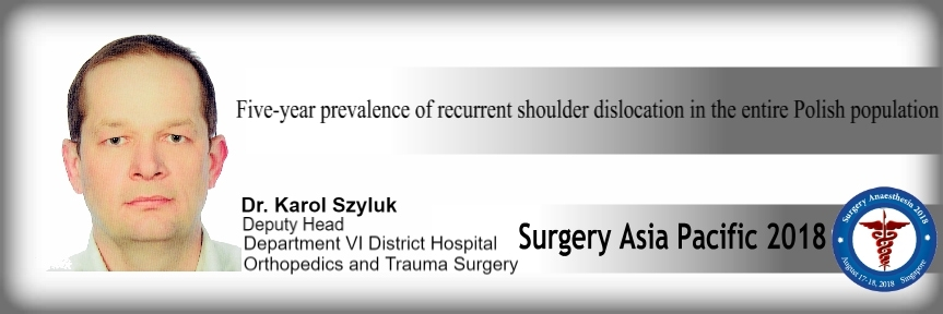 - Surgery Asia Pacific 2018