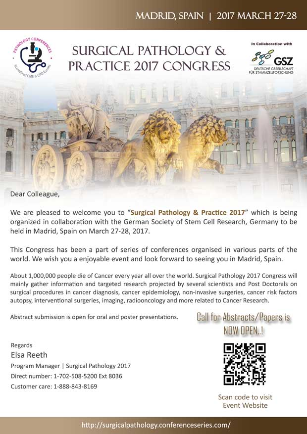 Surgical Pathology Congress Invitation