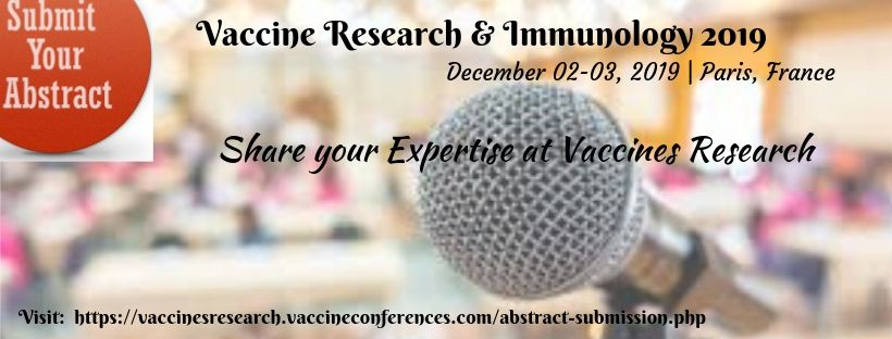 - Vaccine Research 2019