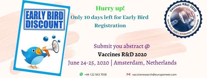 - Vaccines R&D 2020