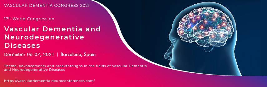 Vascular Dementia congress - Vascular Dementia Congress 2021