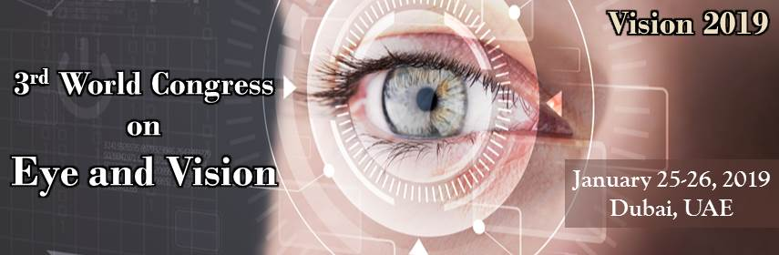 Eye and vision conference, January 25-26, 2019  Dubai - Eye Vision 2019
