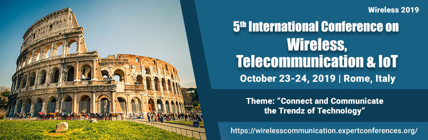 Wireless Conferences | Wireless 2019 | Telecommunication
