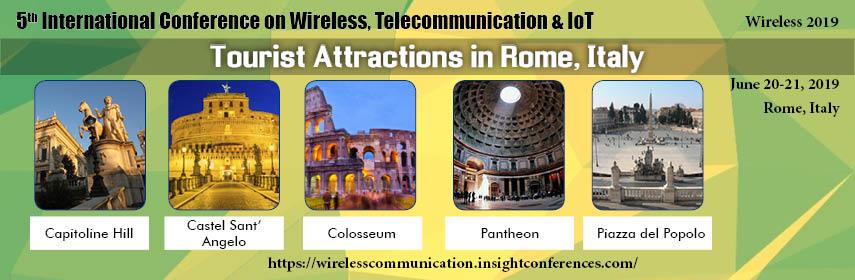 Wireless, Telecommunication & IoT, - 2019 Rome | Italy - Wireless 2019