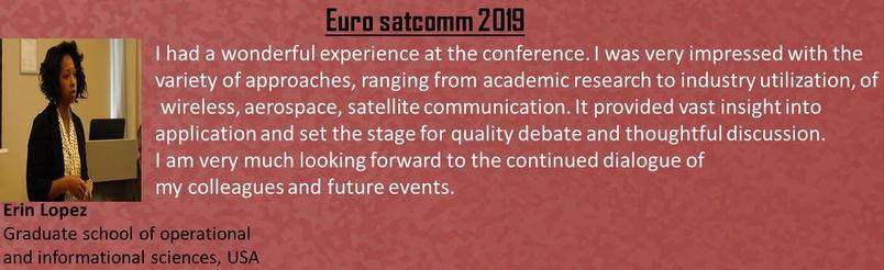 Euro SatComm 2020 - Euro Satcomm 2020