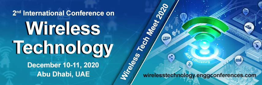 Homepage Banner of 2nd International Conference on  Wireless Technology - Wireless Tech Meet 2020