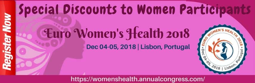 Womens Health and Reproductive Medicine Conferences - Euro Women's Health 2018