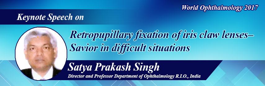 World Ophthalmology 2017 - World Ophthalmology 2017