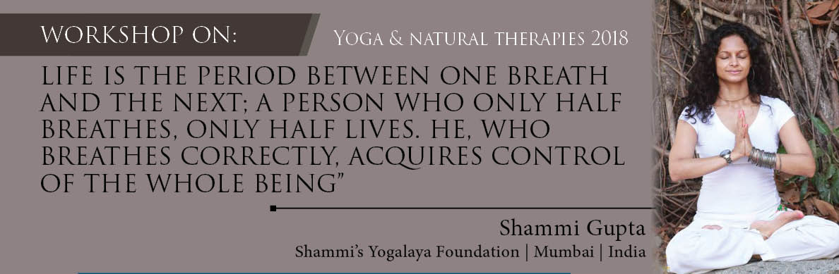 - Yoga & Natural therapies 2018