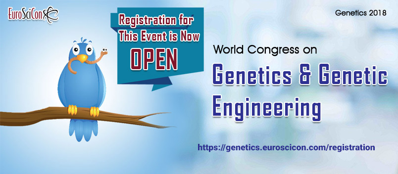 Registration| 2018 | Leading Genetics Conference in USA Europe | Genetic Events in Amsterdam | Nethe