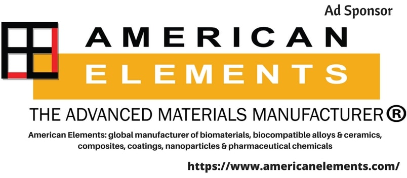 American Elements: global manufacturer of biomaterials, biocompatible alloys & ceramics, composites,