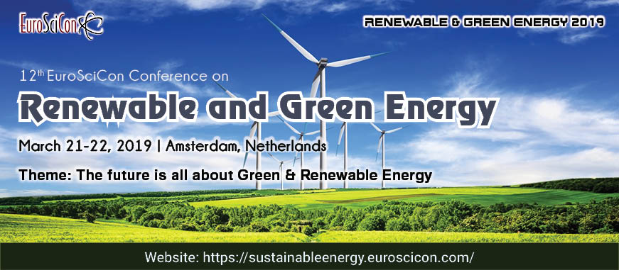 Renewable Energy Conference | Green Energy Conference | 2019