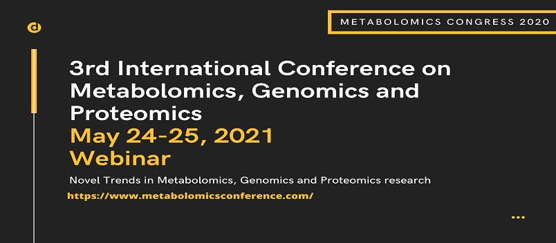 - Metabolomics Congress 2021