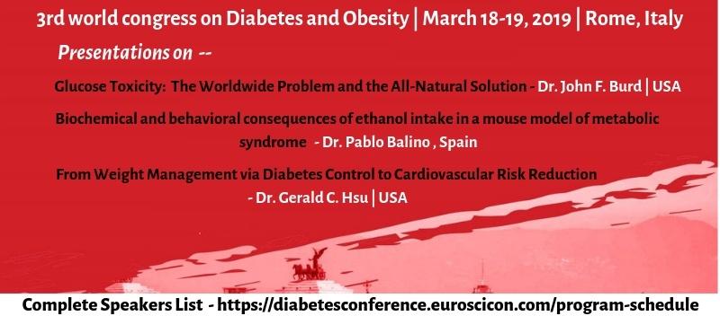 Diabetes conferences 2019