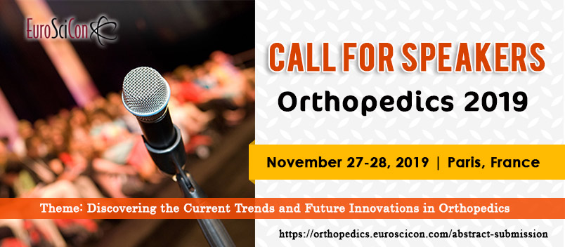 Orthopedics Conferences   Orthopedics 2019   Chicago   USA   2019