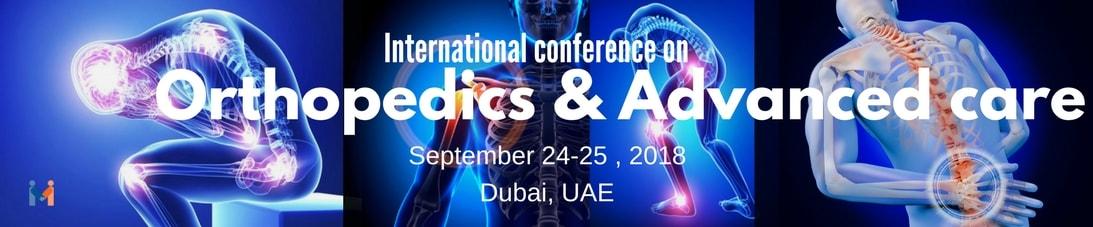 International Conference On Orthopedics and Advanced Care-Orthopedics 2018