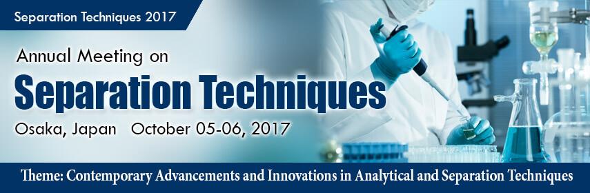 Chromatography-Separation Techniques 2017