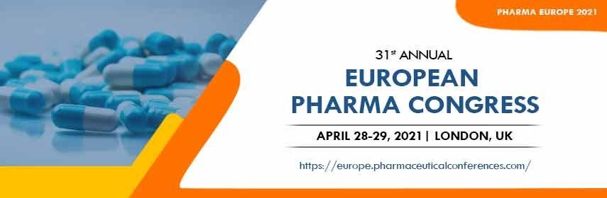 - Pharma Europe 2021